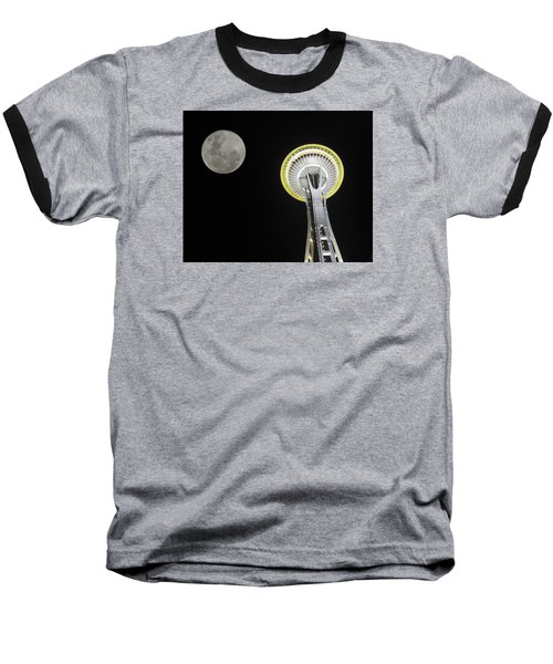 Space Needle Baseball T-Shirt