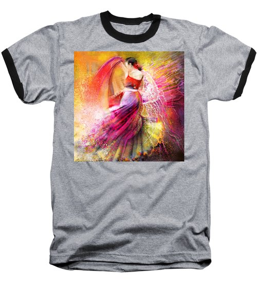 Spain - Flamencoscape 12 Baseball T-Shirt