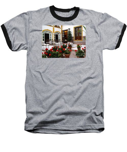 Baseball T-Shirt featuring the photograph Spain by Haleh Mahbod