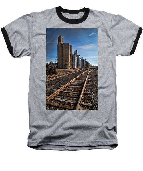 Spangle Grain Elevator Color Baseball T-Shirt