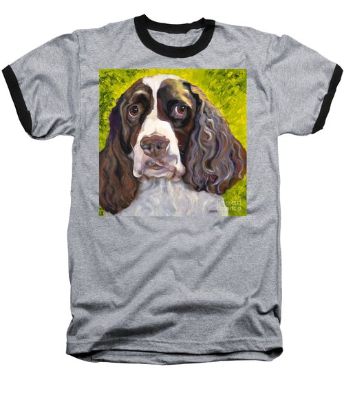 Spaniel The Eyes Have It Baseball T-Shirt