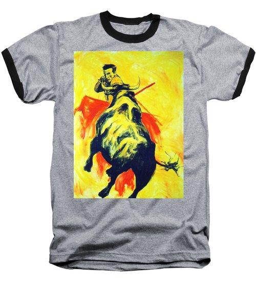Spanish Bullfight Baseball T-Shirt