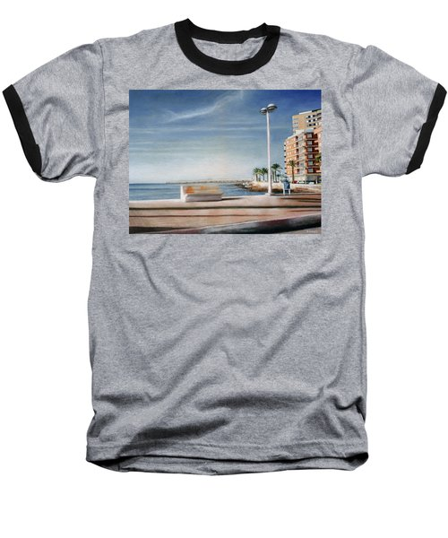 Spanish Coast Baseball T-Shirt