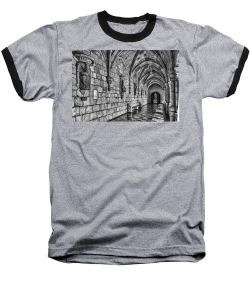 Spanish Monastary Baseball T-Shirt