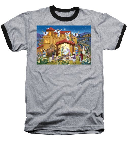 Spanish Nativity Baseball T-Shirt