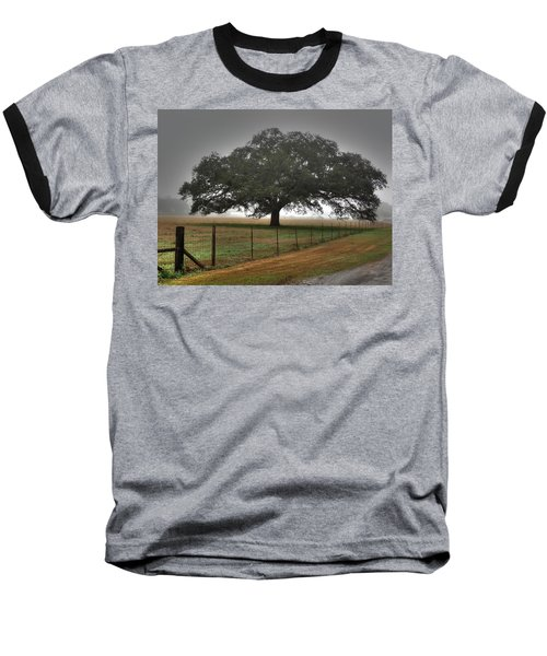 Baseball T-Shirt featuring the photograph Spanish Oak I by Lanita Williams