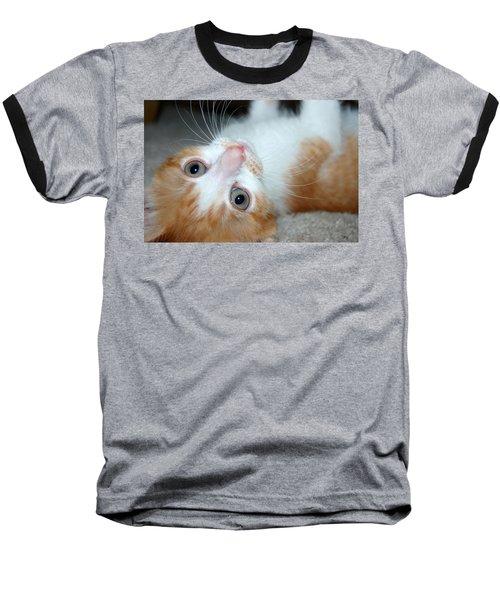 Spankie Baseball T-Shirt by Holly Blunkall