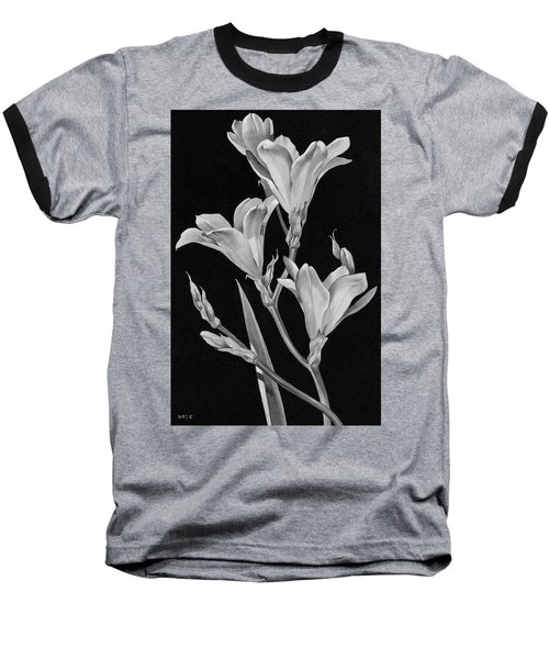 Sparaxis Flowers Baseball T-Shirt