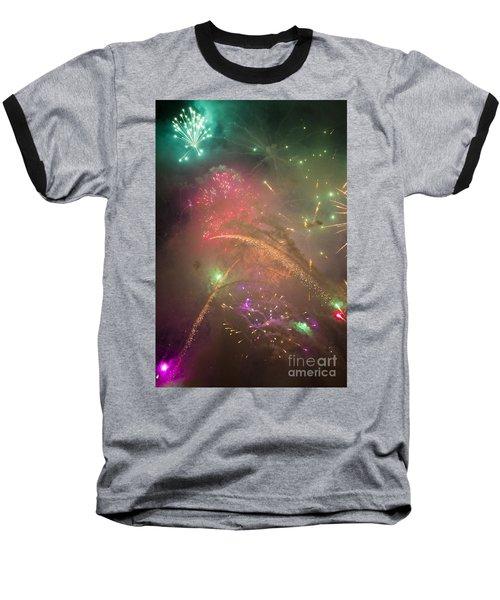 Sparked Sky Baseball T-Shirt