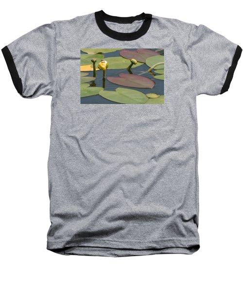 Spatterdock Heart Baseball T-Shirt