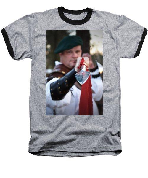 Spear Of The Scot Baseball T-Shirt by Tara Potts