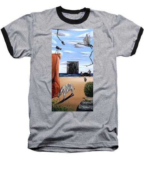 Species Differentiation -darwinian Broadcast- Baseball T-Shirt