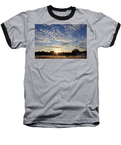 Spectacular Sunset England Baseball T-Shirt