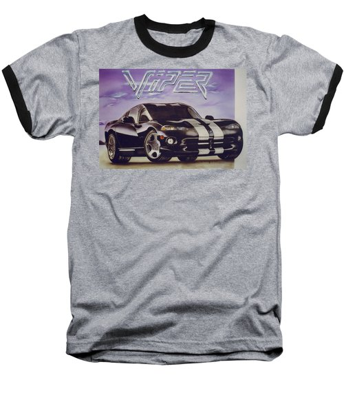Speed At A Standstill Baseball T-Shirt