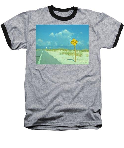 Speed Hump Baseball T-Shirt