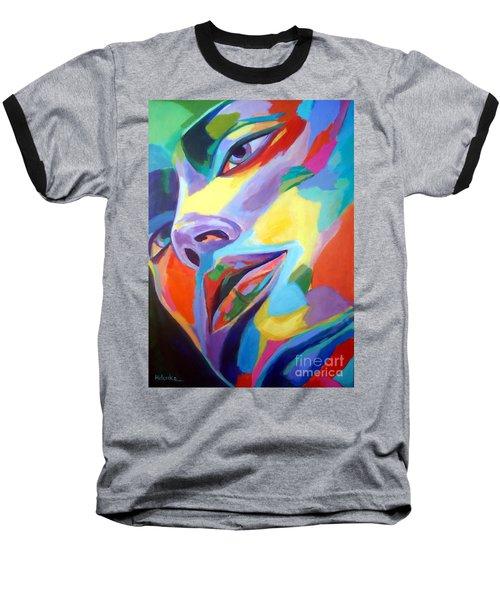Spellbound Heart Baseball T-Shirt by Helena Wierzbicki