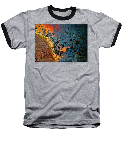 Spew Baseball T-Shirt by Leanna Lomanski