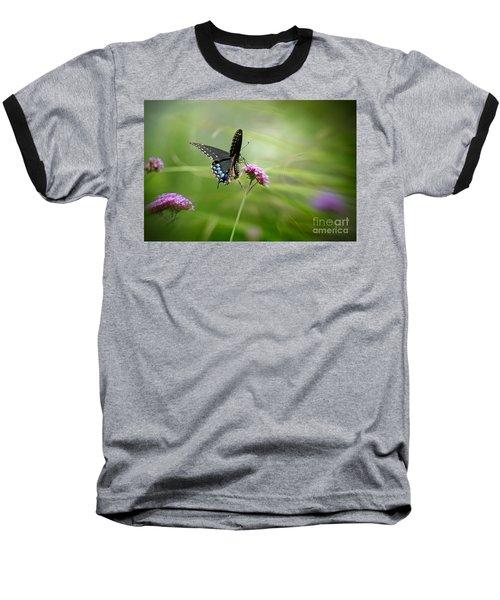 Spicebush Swallowtail Butterfly Baseball T-Shirt