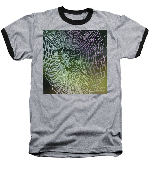 Spider Web Baseball T-Shirt