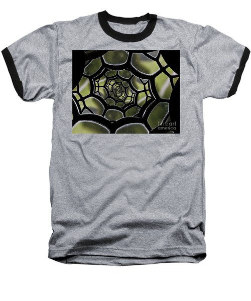 Baseball T-Shirt featuring the photograph Spider's Web. by Clare Bambers