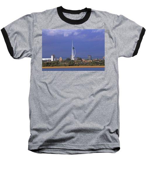 Spinnaker Tower Baseball T-Shirt
