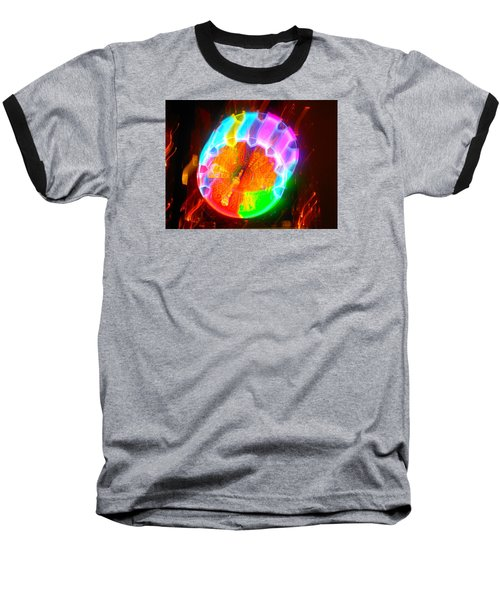 Spinning Orb In The Cosmos Baseball T-Shirt