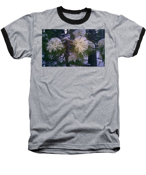 Baseball T-Shirt featuring the photograph Spiny Snow Balls by Chris Tarpening