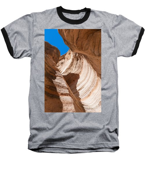 Baseball T-Shirt featuring the photograph Spiral At Tent Rocks by Roselynne Broussard