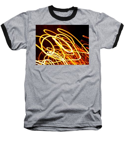 Spiral Light Among Dwellers About The City 2 Baseball T-Shirt by Paulo Guimaraes