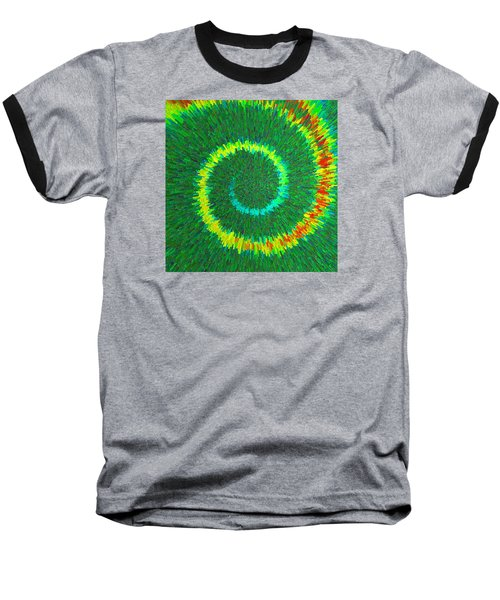 Spiral Rainbow C2014 Baseball T-Shirt