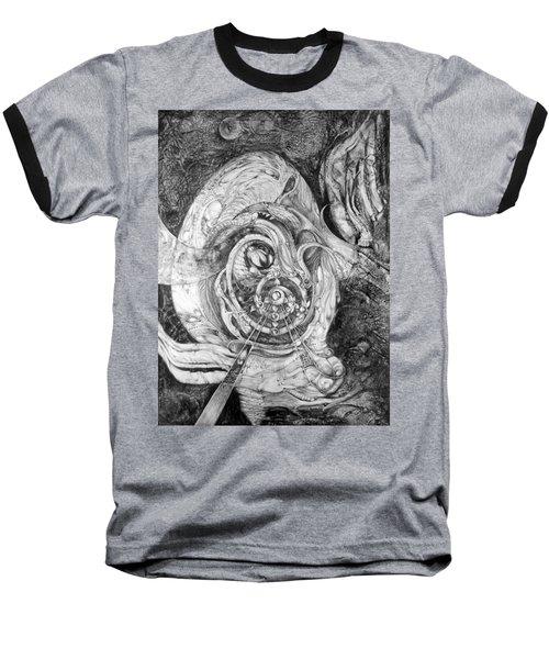 Spiral Rapture 2 Baseball T-Shirt