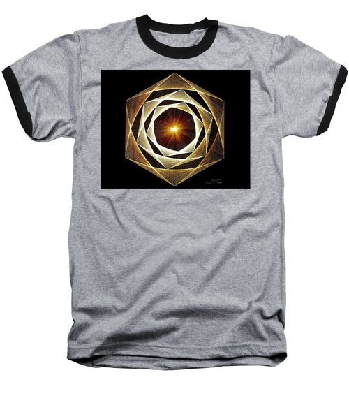 Spiral Scalar Baseball T-Shirt