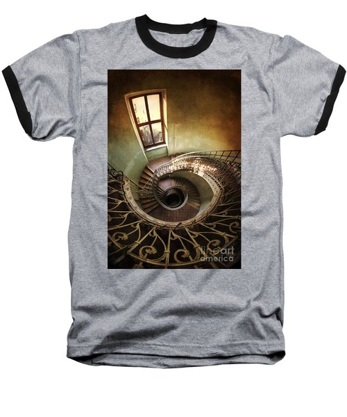 Spiral Staircaise With A Window Baseball T-Shirt
