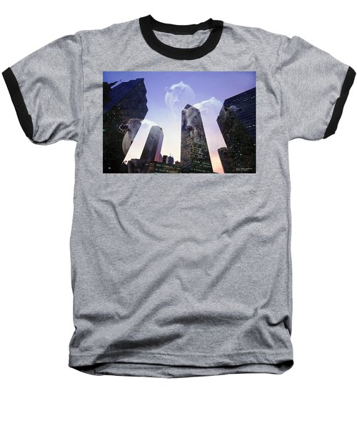 Baseball T-Shirt featuring the photograph Spirit Of Texas by David Perry Lawrence