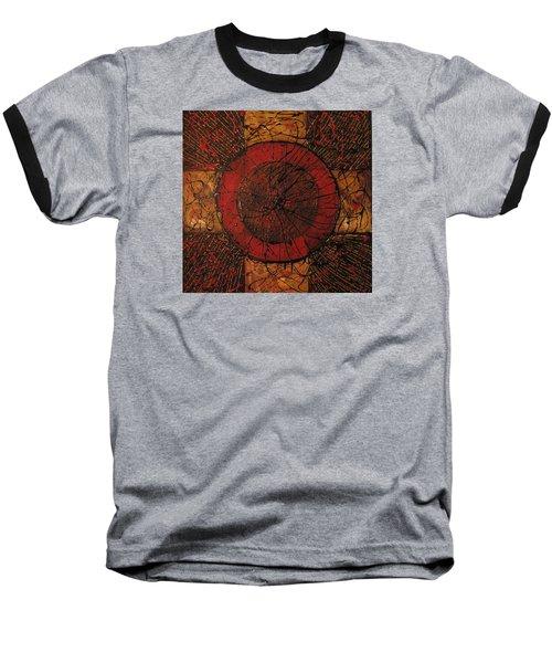 Spiritual Movement Baseball T-Shirt by Roberta Rotunda