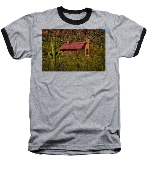 Baseball T-Shirt featuring the photograph Spiritual Oasis by Mark Myhaver