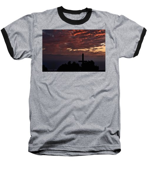 Baseball T-Shirt featuring the photograph Spiritual Retreat by Michael Gordon