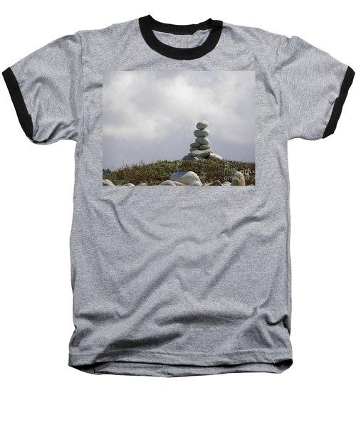 Spiritual Rock Sculpture Baseball T-Shirt