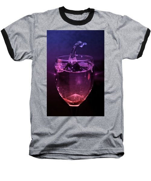 Baseball T-Shirt featuring the photograph Splash by Aaron Berg