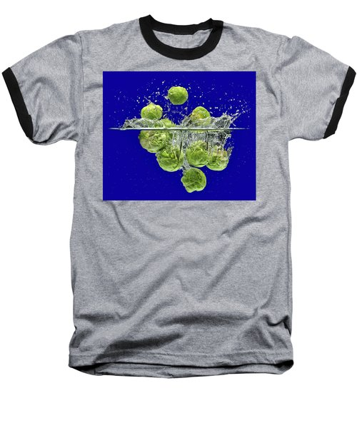 Splash-brussels Sprouts Baseball T-Shirt