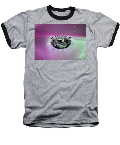 Splash Of Purple Baseball T-Shirt