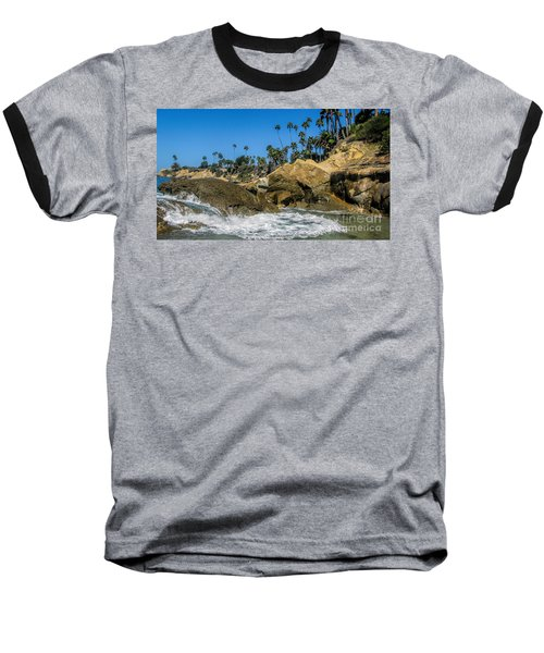 Baseball T-Shirt featuring the photograph Splash by Tammy Espino