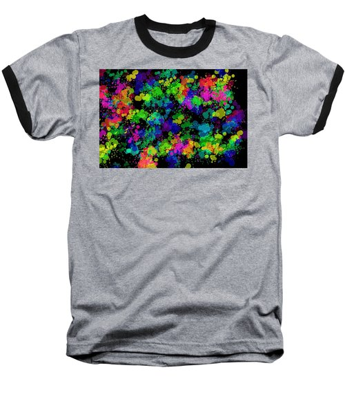 Baseball T-Shirt featuring the photograph Splatter by Mark Blauhoefer