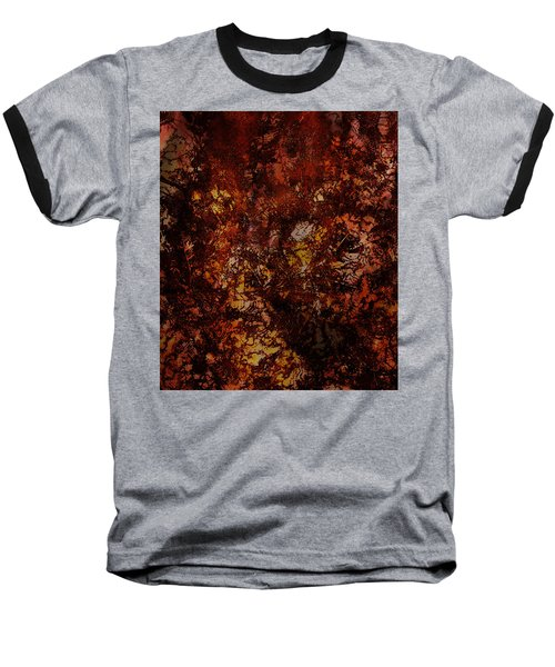 Splattered  Baseball T-Shirt
