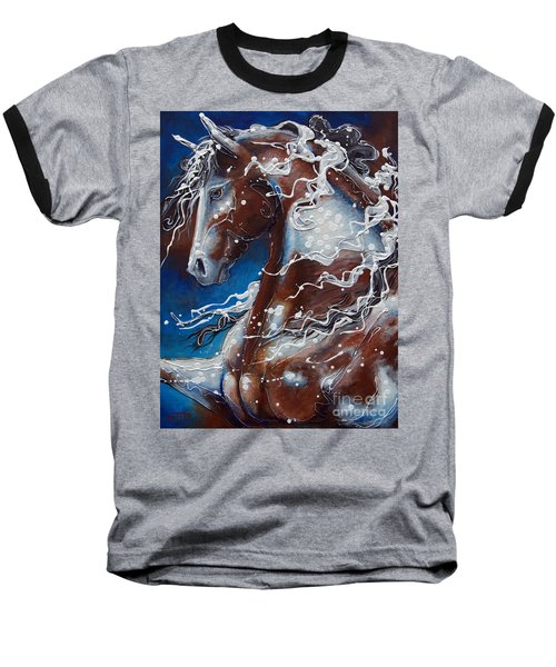 Splish Splashed My Paint Baseball T-Shirt