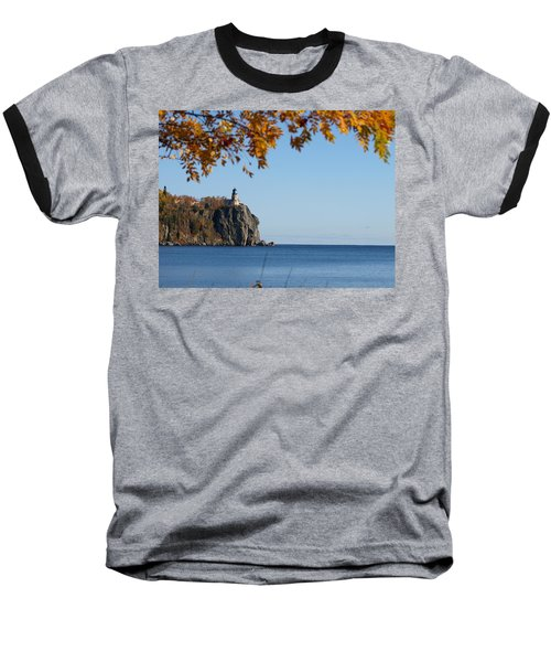 Split Rock Leaves Baseball T-Shirt