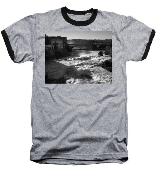 Spokane Falls Spring Flow Baseball T-Shirt