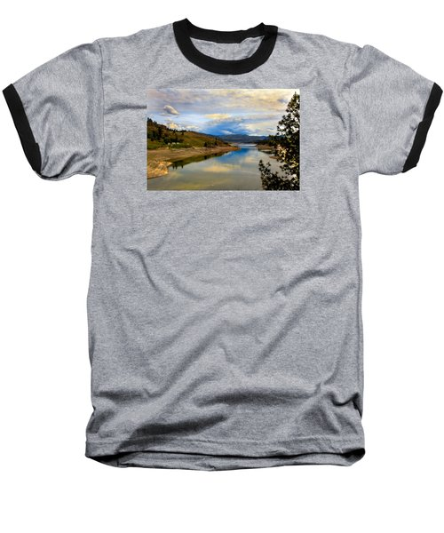 Spokane River Baseball T-Shirt by Robert Bales