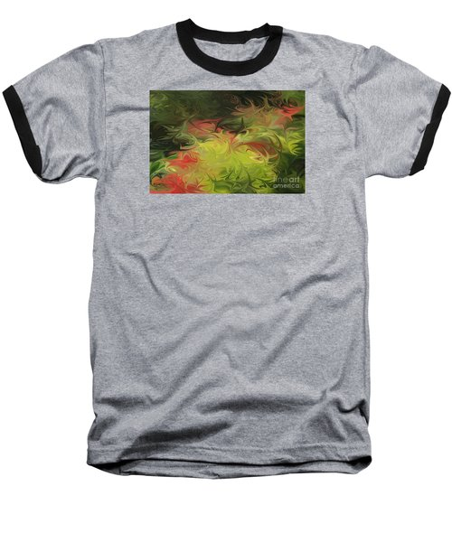 Baseball T-Shirt featuring the digital art Jardin De Picasso  by The Art of Alice Terrill