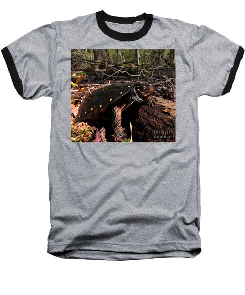 Spotted Turtle Baseball T-Shirt